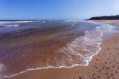 Red sand beach, Prince Edward Island Royalty Free Stock Photo