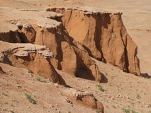 Red sand cliffs Royalty Free Stock Photos