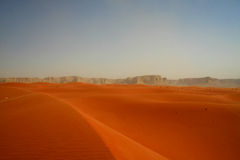 Red sand desert Royalty Free Stock Images