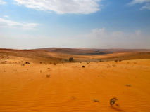 Red sand desert Royalty Free Stock Image