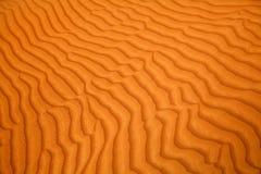 Red sand desert Stock Photography