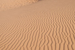 Red Sand dunes. Mui Ne. Vietnam Royalty Free Stock Photos