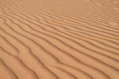 Red Sand dunes. Mui Ne. Vietnam Royalty Free Stock Image