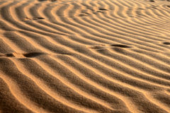 Red Sand Dunes. Pattern Royalty Free Stock Image