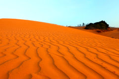 Red Sand Dunes. Vietnam Royalty Free Stock Photography