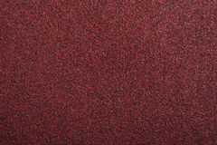 Red sand paper texture. Texture of red sand paper royalty free stock photo