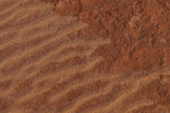 The red sand Stock Image
