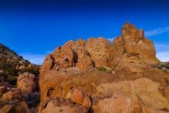 Red Sand Stone Rocks Royalty Free Stock Photos