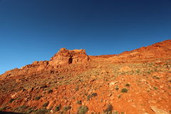 Red sand stone rocks. In the state Utah Stock Photos