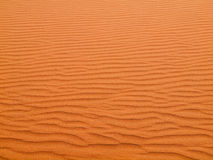 Red sand texture Stock Photography