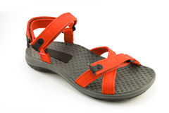 Red sandal Royalty Free Stock Photos
