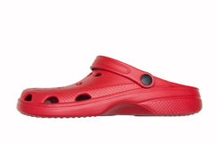 Red sandal Stock Photo