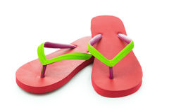 Red sandal Stock Photos