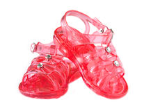 Red sandals Royalty Free Stock Photography