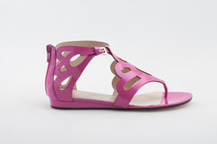 Red  sandals Stock Photography