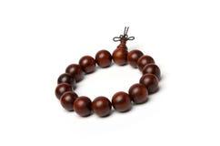 Red sandalwood beads. A red sandalwood Buddha beads Stock Images