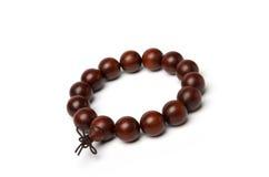 Red sandalwood beads. A red sandalwood Buddha beads Royalty Free Stock Photography