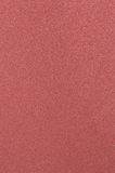 Red Sandpaper. Sheet of Red Sand paper background Stock Photo