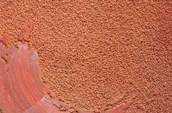 Red Sandpaper Background Royalty Free Stock Image