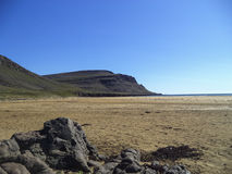 Red Sands beach in western Iceland Royalty Free Stock Photos
