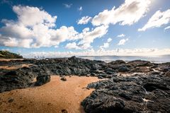 Cable Bay beach stock photography