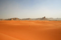 Red sands desert Stock Image
