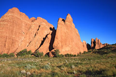Red Sandstone Formations Royalty Free Stock Images