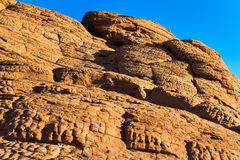 Red Sandstone Rocks, Nevada Stock Photography