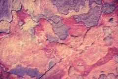 Red sandstone texture background. Abstract red sandstone texture background in natural patterned and color for design Royalty Free Stock Photography