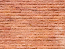 Red sandstone wall texture Royalty Free Stock Photos