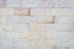 Red sandstone wall texture and background Royalty Free Stock Image