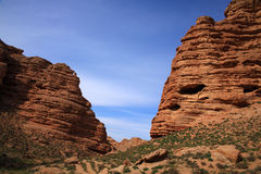 The red sandstones gorge Royalty Free Stock Photos