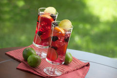 Red Sangria stock photos