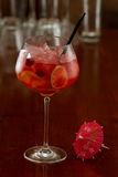 Red sangria Royalty Free Stock Images