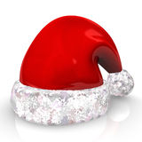 Red Santa Claus Cap Royalty Free Stock Photos