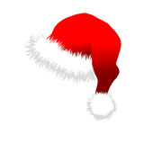 Red Santa Claus Hat Stock Photography