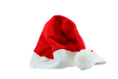 Red santa claus hat Stock Photo
