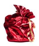 Red Santa Claus sack Stock Images