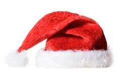 Red santa hat stock photos
