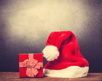 Red Santas hat Royalty Free Stock Photography