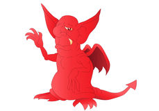 Red satan Royalty Free Stock Image