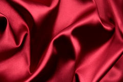 Red satin Royalty Free Stock Images