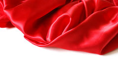 Red Satin Royalty Free Stock Photo