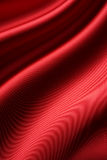 Red satin. Waving red satin for background Royalty Free Stock Image