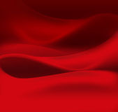 Red satin Stock Image