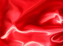 Red Satin Abstract Background Stock Photos