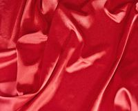 Red satin background Stock Photos