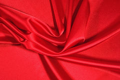 Red satin background Royalty Free Stock Photo