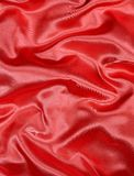 Red Satin Background Stock Photography