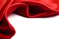 Red Satin Border Stock Photos